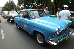 August 19, 2017 - Riga, Latvia, Latvia - Latvia, Riga, August 19, 2017. Meeting of antique cars and motorcycles RĪGA RETRO-2017. More than 100 retro-autobiles and motorcycles from Latvia and the Baltics. (Credit Image: © Russian Look via ZUMA Wire)