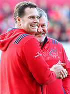 Rassie Erasmus of Munster during the European Rugby Champions Cup match at Thomond Park, Limerick<br /> Picture by Yannis Halas/Focus Images Ltd +353 8725 82019<br /> 01/04/2017