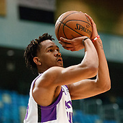 Reno Bighorns Forward LUIS MONTERO (44) during the NBA G-League Basketball game between the Reno Bighorns and the Raptors 905 at the Reno Events Center in Reno, Nevada.
