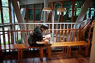 The Beitou Public Library, in Taipei, Taiwan.