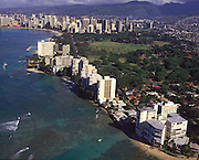 Gold Coast, Waikiki, Oahu, Hawaii<br />