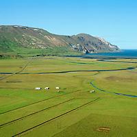 Bakkagerði séð til norðurs, Fljótsdalshérað áður Hlíðarhreppur / Bakkagerdi viewing north, Fljotsdalsherad former Hlidarhreppur.