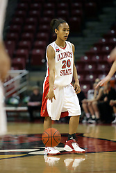 13 January 2007: Tiffany Hudson. The Missouri State Bears lost to the Redbirds of Illinois State University at Redbird Arena in Normal Illinois by a score of 76-47.<br />