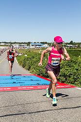 41st Falmouth Road Race: Joan Samuelson, 56
