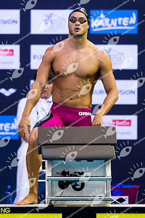 Mattia Pesce Italy ITA<br /> 100 Breaststroke Men Heat<br /> 32nd LEN European Championships <br /> Berlin, Germany 2014  Aug.13 th - Aug. 24 th<br /> Day06 - Aug. 18<br /> Photo A.Masini/Deepbluemedia/Inside