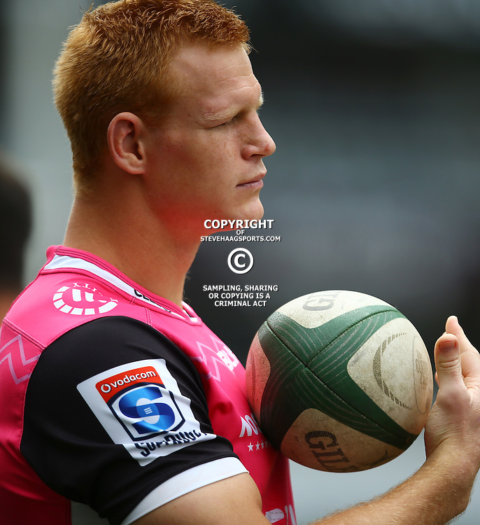 DURBAN, SOUTH AFRICA, 9 September, 2016 - Phillip van der Walt during The Cell C Sharks Captains Run at Growthpoint Kings Park in Durban, South Africa. (Photo by Steve Haag)<br /> <br /> images for social media must have consent from Steve Haag