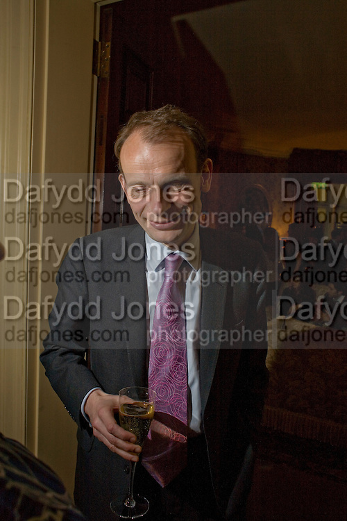 ANDREW MARR, Pre Bafta dinner hosted by Charles Finch and Chanel. Mark's Club. Charles St. London. 9 February 2008.  *** Local Caption *** -DO NOT ARCHIVE-© Copyright Photograph by Dafydd Jones. 248 Clapham Rd. London SW9 0PZ. Tel 0207 820 0771. www.dafjones.com.