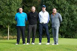 Team J & G Fencing Ltd take part in the annual Bristol Rovers Golf Day - Rogan Thomson/JMP - 10/10/2016 - GOLF - Farrington Park - Bristol, England - Bristol Rovers Golf Day.