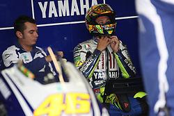 17.07.2010, Sachsenring, GER, MotoGP, Deutschland Grand Prix 2010, im Bild Valentino Rossi - Fiat Yamaha team. EXPA Pictures © 2010, PhotoCredit: EXPA/ InsideFoto/ Semedia +++ ATTENTION - FOR AUSTRIA AND SLOVENIA CLIENT ONLY +++ / SPORTIDA PHOTO AGENCY
