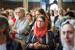 "3 June 2018, Novi Sad, Serbia: Sunday service in the Eastern Orthodox Cathedral Church of the Holy Great Martyr George. On 31 May - 6 June 2018, in Novi Sad, Serbia, the Serbian Orthodox Church stood as one of the host churches of the Conference of European Churches General Assembly. More than 400 delegates, advisors, stewards, youth, staff, and distinguished guests took part in the Assembly and related events, gathered under the theme, ""You shall be my witnesses""."