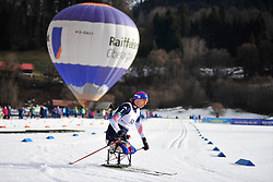 SOULE Andrew, USA at the 2014 IPC Nordic Skiing World Cup Finals - Middle Distance