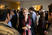 Petra Chequer of Impact networks during the Bay Area Corporate Counsel Awards at The Westin San Francisco Airport in Millbrae, California, on March 18, 2019. (Stan Olszewski for Silicon Valley Business Journal)