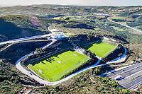 ESTEPONA - 06-01-2016, AZ in Spanje 6 januari, drone beeld trainingscomplex.