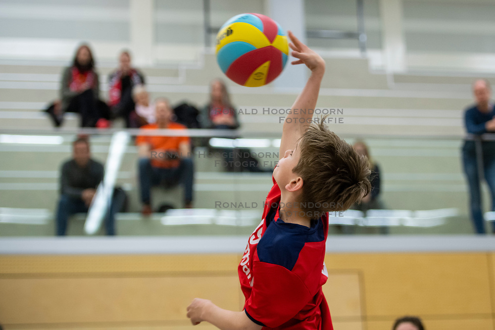 31-03-2019 NED: Final D Volleybaldirect Open, Wognum<br /> 16 teams of girls and boys D competed for the Dutch Open Championship / Taurus