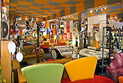 Bright bold colorful furniture, deco, 50's,  Moderne Art Deco