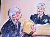 Wikileaks Founder Julian Assange appears at a special extradition hearing at Woolwich Crown Court, London January 11, 2011