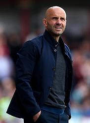 Exeter City manager Paul Tisdale - Mandatory by-line: Robbie Stephenson/JMP - 14/04/2018 - FOOTBALL - Wham Stadium - Accrington, England - Accrington Stanley v Exeter City - Sky Bet League Two