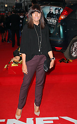 Claudia Winkleman  arriving at the premiere of  The Sweeney in London, Monday, 3rd September 2012.  Photo by: Stephen Lock / i-Images