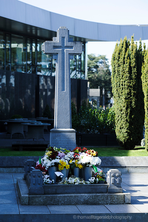 The Grave of Michael Collins at the Glasnevin Cemetry in North Co. Dublin