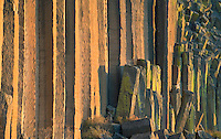 Basalt column cliffs in central Oregon USA.