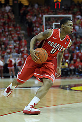 13 February 2013:  Ka'Darryl Bell during an NCAA Missouri Valley Conference mens basketball game where the Bradley Braves were defeated by Illinois State Redbirds 79-59 in Redbird Arena, Normal IL