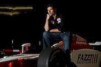 Alex Tagliani, Racer photo shoot, Indianapolis, IN USA 1/11/2010