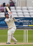 W J Wighell (Durham County Cricket Club) in action during the LV County Championship Div 1 match between Durham County Cricket Club and Hampshire County Cricket Club at the Emirates Durham ICG Ground, Chester-le-Street, United Kingdom on 3 September 2015. Photo by George Ledger.