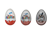 Kinder surprise chocolate egg unde3r x-ray