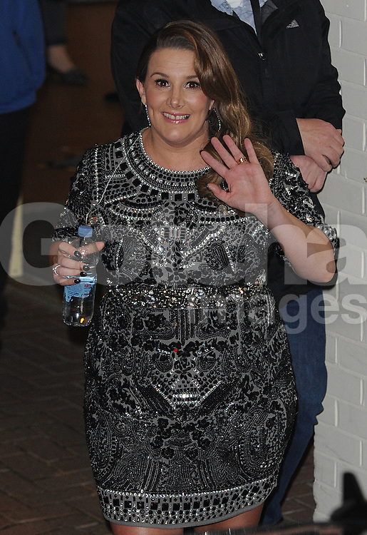 Sam Bailey leaving the X Factor studios in Wembley, UK. 07/12/2014<br /> BYLINE MUST READ : GOTCHAIMAGES.COM<br /> <br /> Copyright by &copy; Gotcha Images Ltd. All rights reserved.<br /> Usage of this image is conditional upon the acceptance <br /> of Gotcha Images Ltd, terms and conditions available at<br /> www.gotchaimages.com