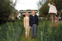 TOMMASO DEL BUONO and LADY BAMFORD at the 2008 Chelsea Flower Show 19th May 2008.<br /><br />NON EXCLUSIVE - WORLD RIGHTS