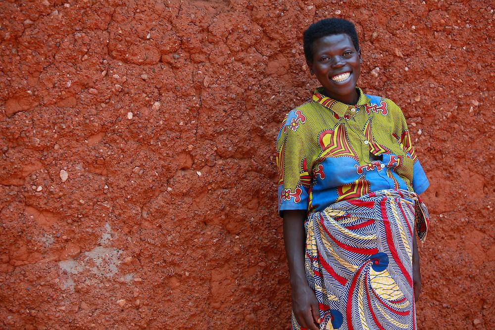 Marie Solange, Kajevuba Village. Juru Sector. Bugesera district. Rwanda.<br /> <br /> &copy; Zute Lightfoot / Water Aid