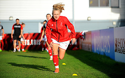 Bristol City Women warm up prior to kick-off - Mandatory by-line: Nizaam Jones/JMP - 27/10/2019 - FOOTBALL - Stoke Gifford Stadium - Bristol, England - Bristol City Women v Tottenham Hotspur Women - Barclays FA Women's Super League