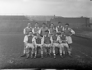 22/02/1958<br /> 02/22/1958<br /> 22 February 1958<br /> Soccer: League of Ireland Cork Hibernians v St. Patricks Athletic at Dalymount Park, Dublin. The St. Patricks Athletic Team.