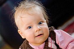 08.11.2010, Graz, AUT, Feature, im Bild ein Baby mit zerzaustem Haar und Pullunder, EXPA Pictures © 2012, PhotoCredit: EXPA/ Erwin Scheriau