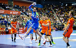 14-04-2019 SLO: Qualification EHF Euro Slovenia - Netherlands, Celje<br /> Borut Mackovsek of Slovenia during handball match between National teams of Slovenia and Netherlands in Qualifications of 2020 Men's EHF EURO