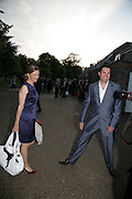 Katy Derham with her husband John Vincent, Launch of Tina Brown's book 'The Diana Chronicles' hosted by Reuters. Serpentine Gallery. 18 June 2007.  -DO NOT ARCHIVE-© Copyright Photograph by Dafydd Jones. 248 Clapham Rd. London SW9 0PZ. Tel 0207 820 0771. www.dafjones.com.