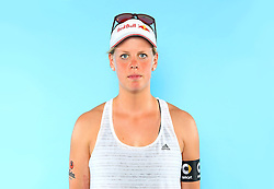 07.06.2016, Hamburg, GER, DVV Beachvolleyball, Fototermin, Nationalmannschaft, Olympische Spiele, Rio 2016, im Bild Britta Büthe (GER) // Britta Buethe of Germany during photocall of German Beach Volleyball team of German Cycling Federation for the Olympic games, Rio 2016. Hamburg, Germany on 2016/06/07. EXPA Pictures © 2016, PhotoCredit: EXPA/ Eibner-Pressefoto<br /> <br /> *****ATTENTION - OUT of GER*****