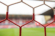 Goal net ahead of the EFL Sky Bet Championship match between Nottingham Forest and Bristol City at the City Ground, Nottingham, England on 21 January 2017. Photo by Jon Hobley.