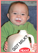 GOT MILK? Well this fella has more than he can handle. While looking through a magazine and seeing a women in the same ad, I said why not? And I did..