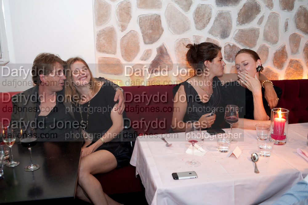 SCOTT DOUGLAS; NATALIA VODIANOVA; TRACEY EMIN; STELLA MCCARTNEY, Prada Congo Benefit party. Double Club. Torrens Place. Angel. London. 2 July 2009.
