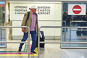 Warsaw, Poland - 2017 October 03: Aleksander Wojciechowski Polish trainer coach of rowers while welcome of Polish Rowing National Team at Chopin Airport on October 03, 2017 in Warsaw, Poland.<br /> <br /> Mandatory credit:<br /> Photo by &copy; Adam Nurkiewicz / Mediasport<br /> <br /> Adam Nurkiewicz declares that he has no rights to the image of people at the photographs of his authorship.<br /> <br /> Picture also available in RAW (NEF) or TIFF format on special request.<br /> <br /> Any editorial, commercial or promotional use requires written permission from the author of image.