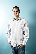 Olympic swimmer Dominik Meichtry of Switzerland is pictured during a portrait photo session for Lifetrons Switzerland GmbH held in Fehraltorf, Switzerland, Friday, March 19, 2010. (Photo by Patrick B. Kraemer / MAGICPBK)