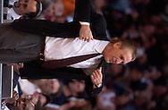 Copyright David Richard<br /> Miami Heat head coach Pat Riley