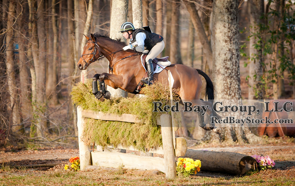 Lizzie Snow (USA) and Ringfort Tinkaturk at the 2014 Pine Top Spring Advanced Horse Trials in Thomson, Georgia.