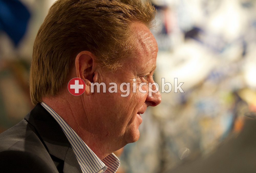Rolf FRINGER is being presented as new head coach of Swiss National League A soccer club FC Zuerich at the club's museum in Zurich, Switzerland, Friday, March 30, 2012. (Photo by Patrick B. Kraemer / MAGICPBK)