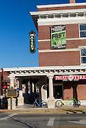 Exterior of Phat Tire bike shop on Thursday, February 18, 2016, in Bentonville, Arkansas. Beth Hall for the New York Times