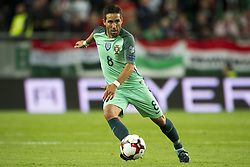 September 3, 2017 - Budapest, Hungary - Joao Moutinho of Portugal in action during the FIFA World Cup 2018 Qualifying Round match between Hungary and Portugal at Groupama Arena in Budapest, Hungary on September 3, 2017  (Credit Image: © Andrew Surma/NurPhoto via ZUMA Press)