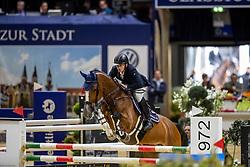 Richter Emiel, NED, Disinaa<br /> Veolia Championat<br /> Braunschweig - Löwenclassics 2019<br /> © Hippo Foto - Stefan Lafrentz
