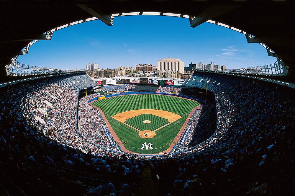 Yankee Stadium, New York City, NY, Bronx, old Stadium 1928