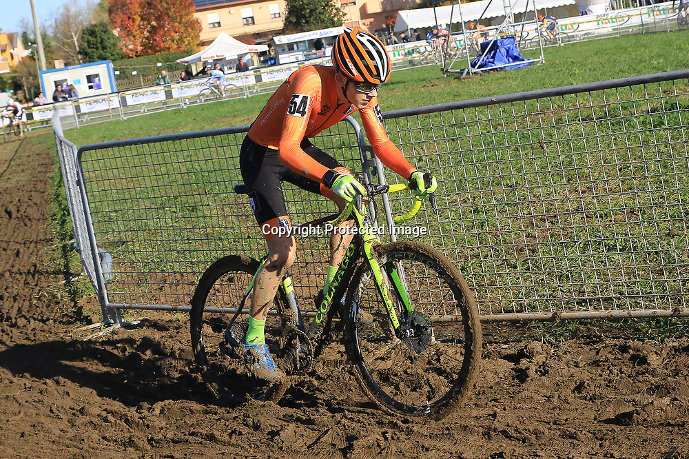 10-11-2019: Wielrennen: Europees Kampioenschap Veldrijden: Silvelle <br />Bailey Groenendaal